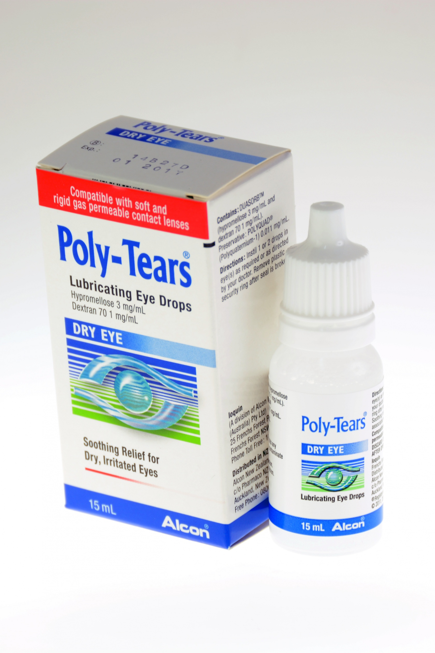 Eye Drops Industrial First Aid Supplies