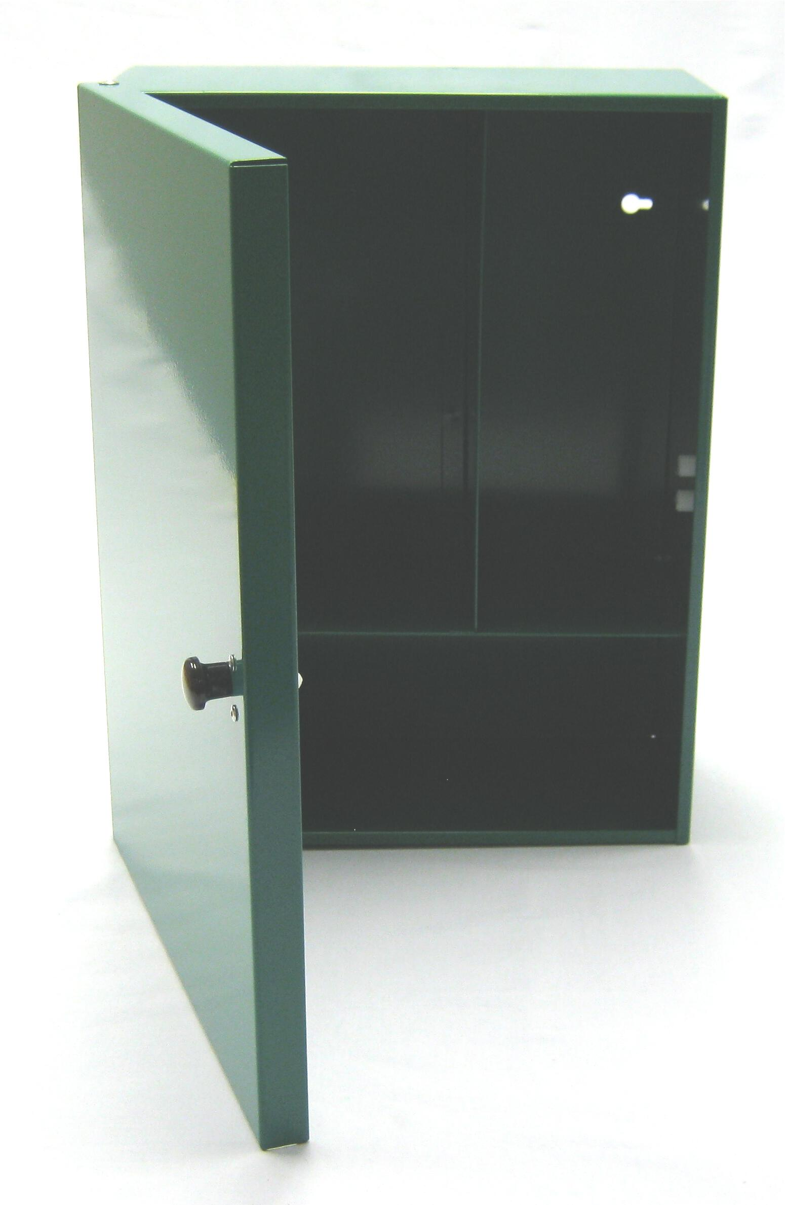 Steel Wall Cabinet Without Lock (Green)
