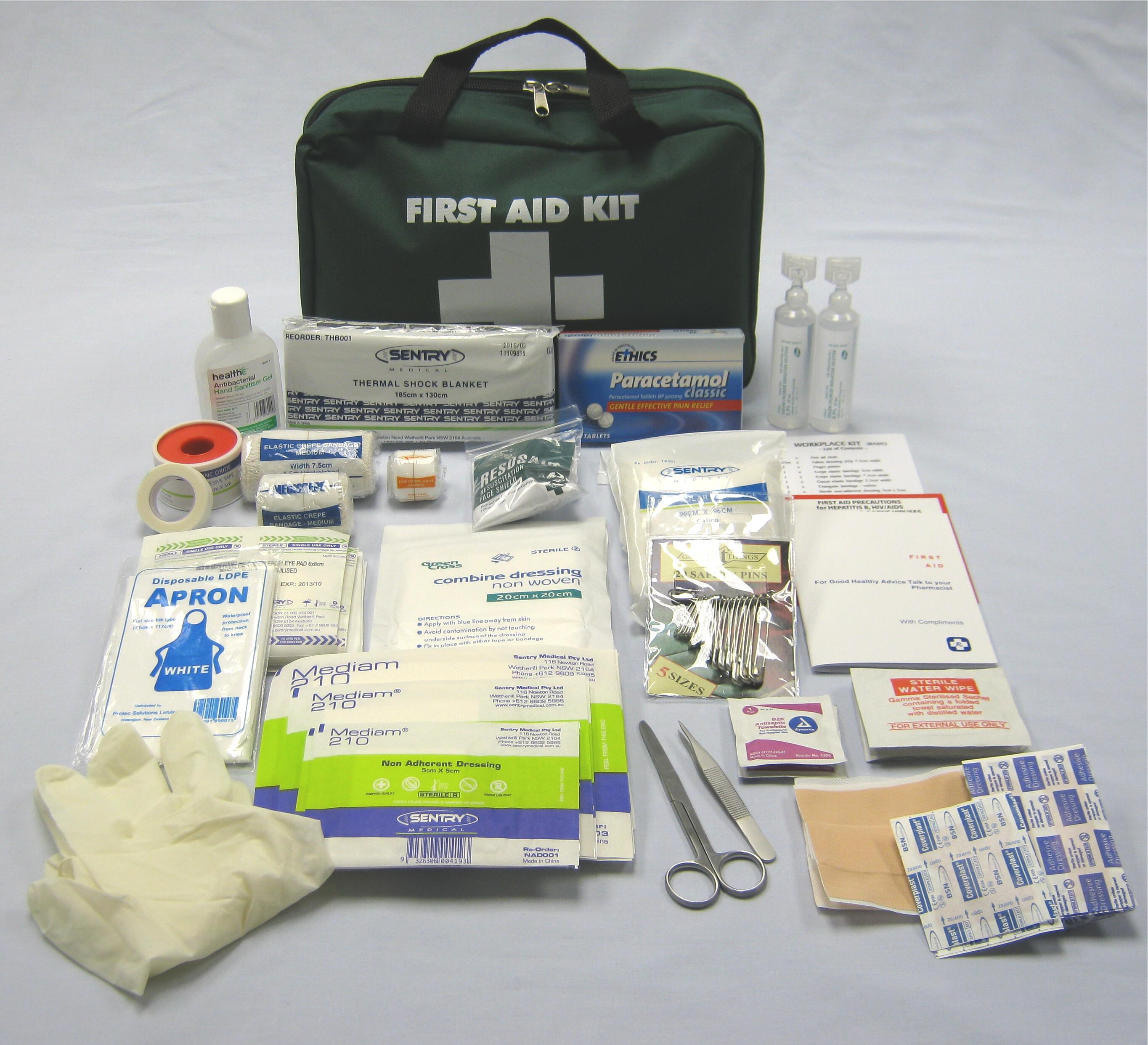 workplace industrial first aid supplies basic workplace kit designed to meet osh requirements