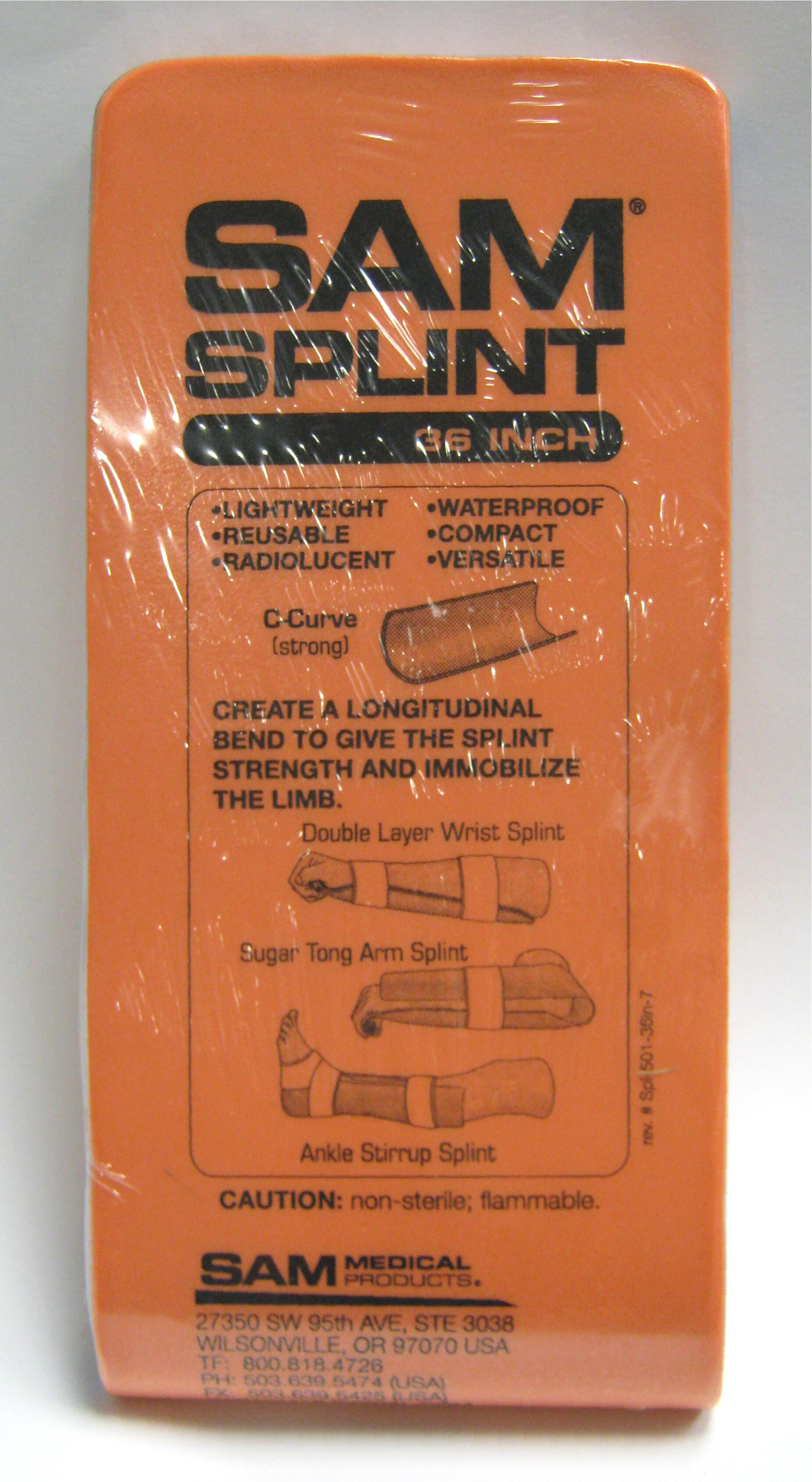 Splints Industrial First Aid Supplies
